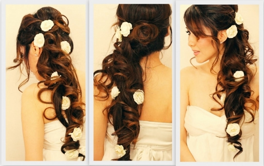 hairstyle with hair extensions
