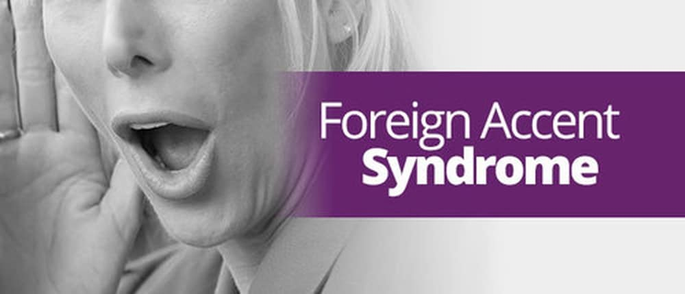 foreign language syndrome