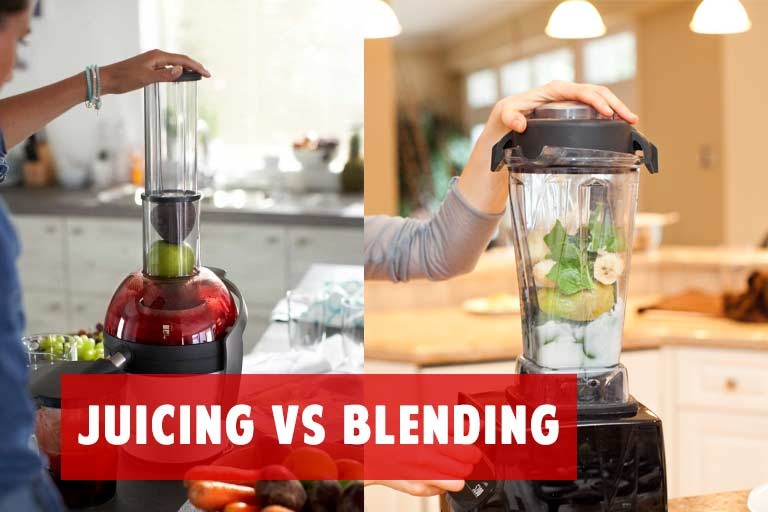 Juicing or Blending