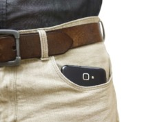 phone in front pocket